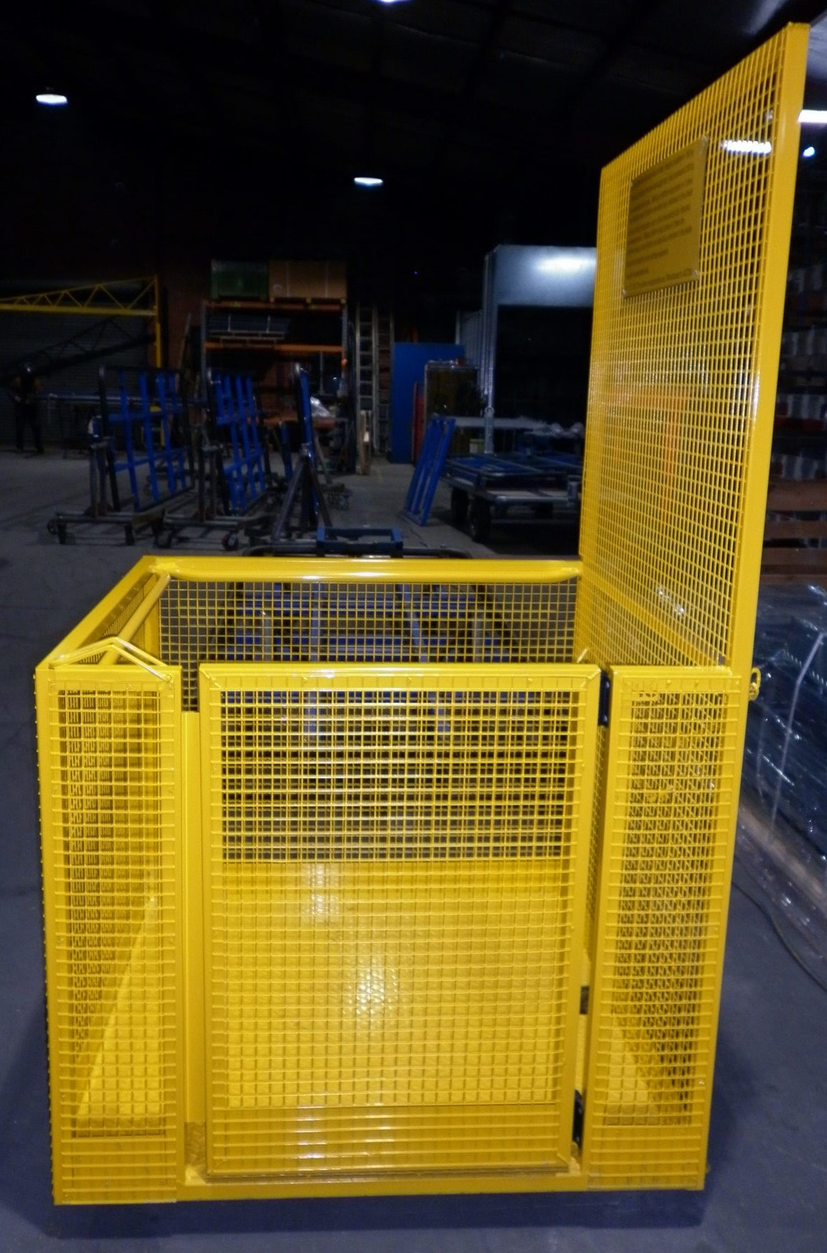 Detail image of All Australian Made Forklift Safety Cagefrom Automatic Wire