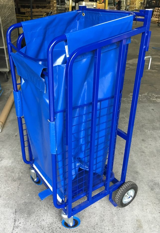 Detail image of Lift Assist Rubbish Trolley, or LARTfrom Automatic Wire